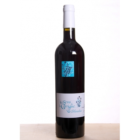 Carton de vin rouge Sens de la Garrigue Marselan cuvée 2017