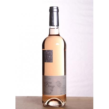 Carton de vin rosé Cinsault 2014